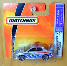 Matchbox Subaru Impreza WRX [Police] - New/Sealed/XHTF [E-808]