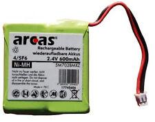 ARCAS POWER NI-MH AKKU ACCU 2,4 V 600 mAh Für Medion MD81877 Telefon