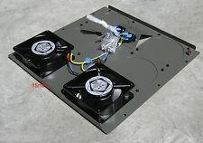 19inch Cabinet Cooling / Ventilation Unit. Top/Bottom Fan Unit. 2Fans. 327.33.12