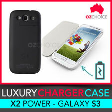 NEW Samsung i9300 Galaxy S3 SIII Backup Battery Charger Case Cover Power 3200mAh