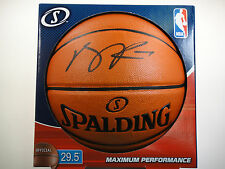 AUTHENTIC DERRICK ROSE PSA/DNA SIGNED SPALDING I/O OFFICIAL BASKETBALL AUTOGRAPH