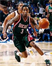 Brandon Jennings Milwaukee Bucks #3 8x10 Photo Picture at the Bradley Center