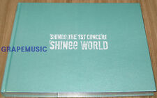 SHINee The 1st Concert Photobook: SHINee WORLD PHOTO BOOK + NAGOYA BOOKLET