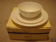 Lenox 'VIBE' 3 piece Dinnerware Set New in Box~ No Mug