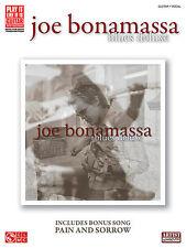 JOE BONAMASSA BLUES DELUXE GUITAR TAB SONG BOOK NEW