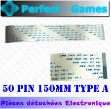 Nappe ruban flat cable flex ribbon FFC 50 pin 150mm 15cm 0.5 pitch type A