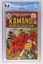Kamandi, the Last Boy on Earth #26 - DC 1975 CGC 9.6