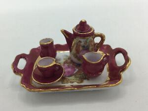 Dolls House 'Reutter' Tea Set