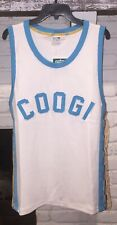 Puma X Coogi Archive Tank Top M Basketball Jersey White Baby Blue Msrp $120
