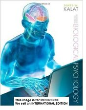 Biological Psychology by James W. Kalat (2012) (Int' Ed Paperback)11 Ed