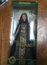 Collector Edition Princess Of Ireland Barbie Collectibles Doll Of The World