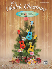 """""""It's a Ukulele Christmas"""" MUSIC BOOK-Over 80 Holiday Favorites W/TAB-NEW-SALE!!"""