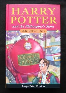 HARRY POTTER PHILOSOPHERS STONE JK Rowling HARDBACK 1st EDITION / 2nd PRINT LP