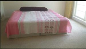 King Mattress with spring box
