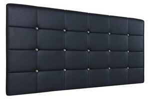 Top Quality Faux Leather Cube Headboard, All Sizes & Colours Available