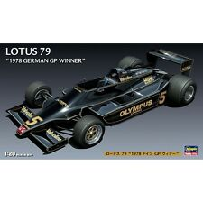 HASEGAWA HAFG3 LOTUS 79 F1 German GP winner plastic assembly model kit 1:20th