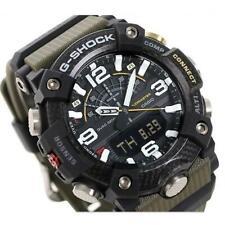CASIO G-SHOCK MUDMAN, GG-B100-1A3, QUAD SENSOR, BLUETOOTH, BLACK x ARMY GREEN