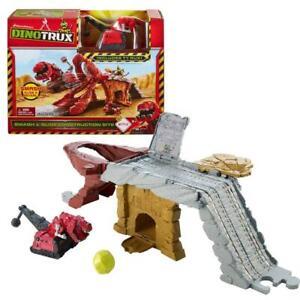 Construction Site with Vehicle T-Rux | Game Set | Dino-Trux | Mattel CJV83