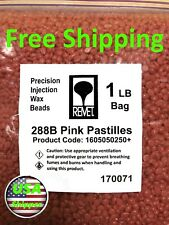Pink Bead Injection Casting Wax Jewelry High Detail & Precision Lost Wax 1 lb