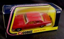 ** 1974 CORGI TOYS JAGUAR XJ12C #286 BOXED **