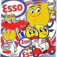 "Sticker "" ESSO "" 68mm x 65mm BIC Lighter"
