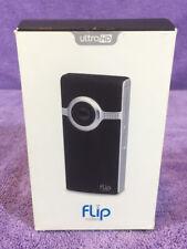 Flip Video Camera UltraHD 3 Model U32120 Used USB HDMI Port Working Cisco volume