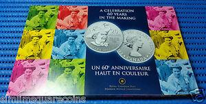 2012 Canada $20 QEII Diamond Jubilee Commemorative Silver Coin with Folder
