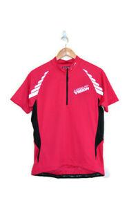 ALTURA Technical Bikewear Pink Reflective Night Vision Cycling Jersey SZ UK 14