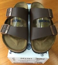 Birkenstock Arizona 051701 Size 39/ L8M6 R Birko-Flor Brown Sandals