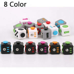 Magic Fidget Cube Learning Toy Kids Adult Desktop Stress Relief Anti-Stress Gift