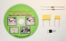 Kenwood Chef A703C Speed Control Repair Kit with instruction DVD