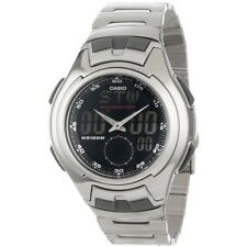 CASIO ANALOG DIGITAL MENS WATCH DUAL TIME AQ160WD-1