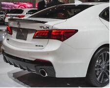 GENUINE OEM Acura 2018-2019 TLX A-spec REAR TRUNK LIP SPOILER BLACK