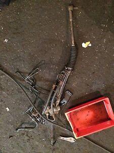 Celica 1.8 Vvti Gen 7 Steering Rack 2000 Reg Red Colour Breaking Parts Mk 7