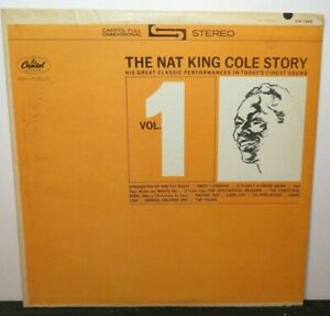 NAT KING COLE STORY VOL 1 (VG+) SW-1926 LP VINYL RECORD