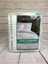 Real Simple Down Alternative Queen Comforter
