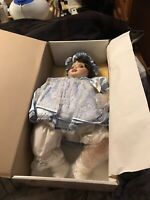 """PORCELAIN MARIE OSMOND 22"""" TODDLER OLIVE MAY DOLL LE LIMITED EDITION"""