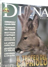 DIANA 3 2003 trofeo del capriolo Lepre Setter e springer Cinghiale Tordi Caccia