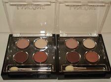 2 Lancome Colour Focus Quad Eye Shadow Palette - Honeymoon Leazard Florasque Set