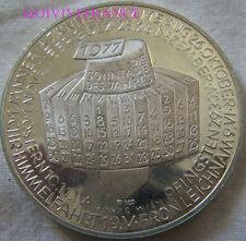 MED5824 - 1977 JAHRESKALENDER KALENDER MEDAILLE MÜNZE ÖSTERREICH SILBER