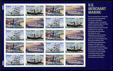 USA 2011 Handelsmarine Schiffe Ships Klipper Dampfschiff 4733-36 Kleinbogen MNH