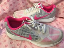 Nike Sneakers Size 8.5 White Pink