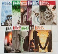 Image-Black Magick #1-11 Complete Series-1st Prints-Greg Rucka, Nicola Scott