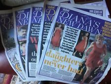 Princess Diana New Dawn Newspaper Series July 2019 Complete Set UK
