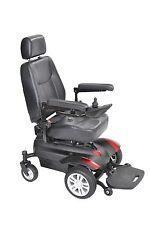 """Drive TITAN1616 Titan Power Wheelchair-Full Back Captains Seat-16""""x16"""""""