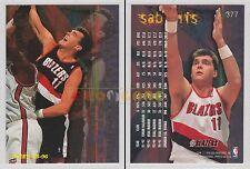 NBA FLEER 1995-1996 SERIES 2 - Arvydas Sabonis, Blazers # 377 - Mint