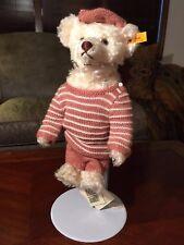Vintage Steiff Sweater Bear EAN 027567 1996 Original w/ Tags Mint Condition