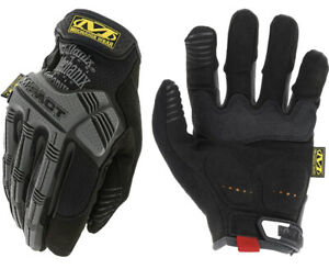 Mechanic M Pact Gloves XLarge Shooting Airsoft Combat Padded Palm Impact Black