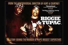 BIGGIE AND TUPAC Movie POSTER 27x40 The Notorious B.I.G. Tupac Shakur Nick