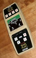 1970s Vintage SEARS ELECTRONIC TEAM PLAY SOCCER Hand-Held video Game ORIGINAL!